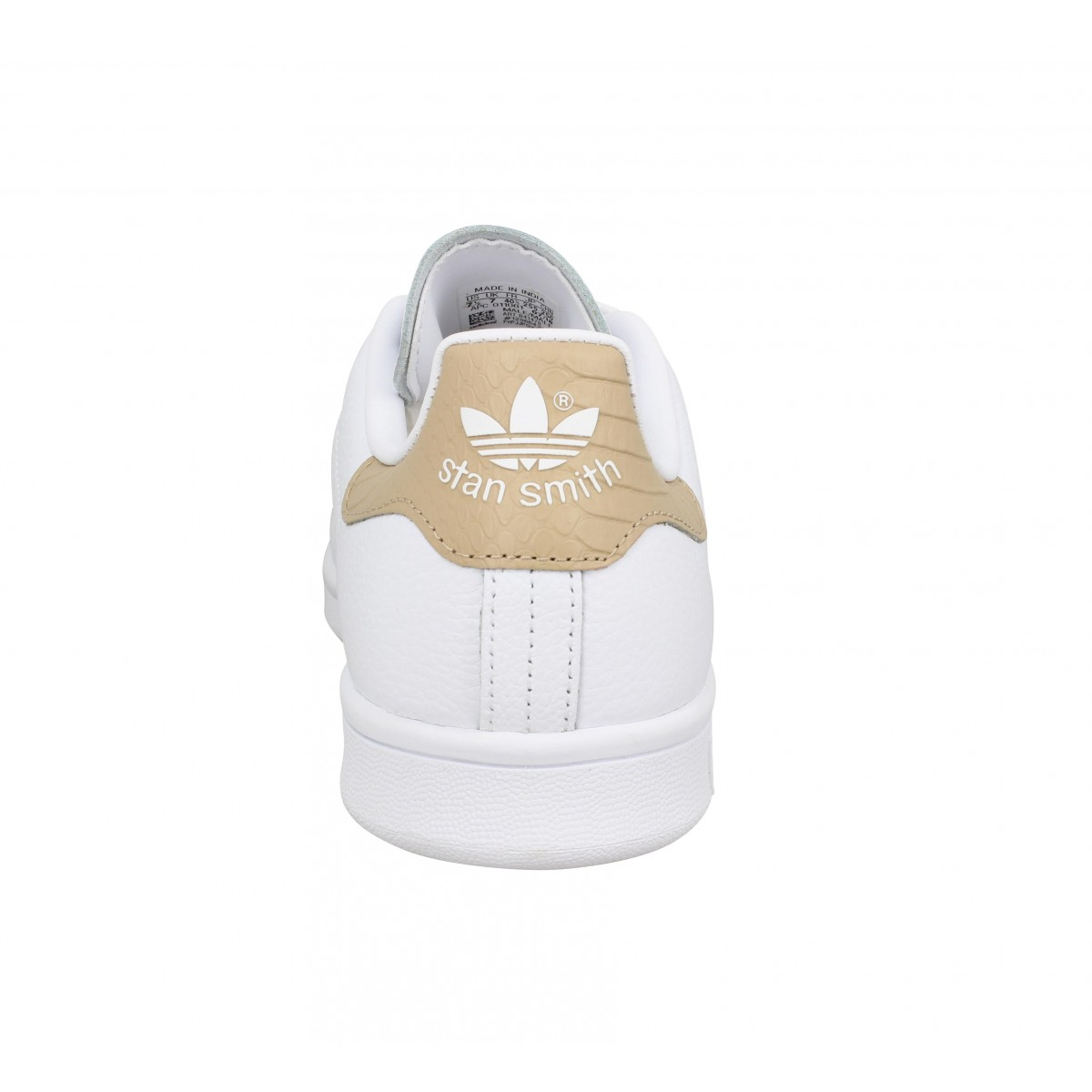 ADIDAS Stan Smith cuir Blanc Nude