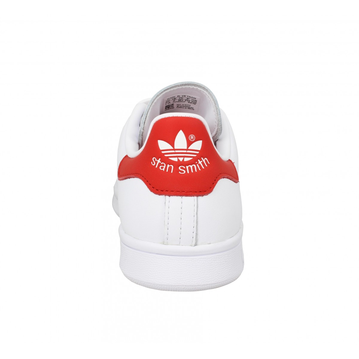 adidas stan smith rouge scratch femme