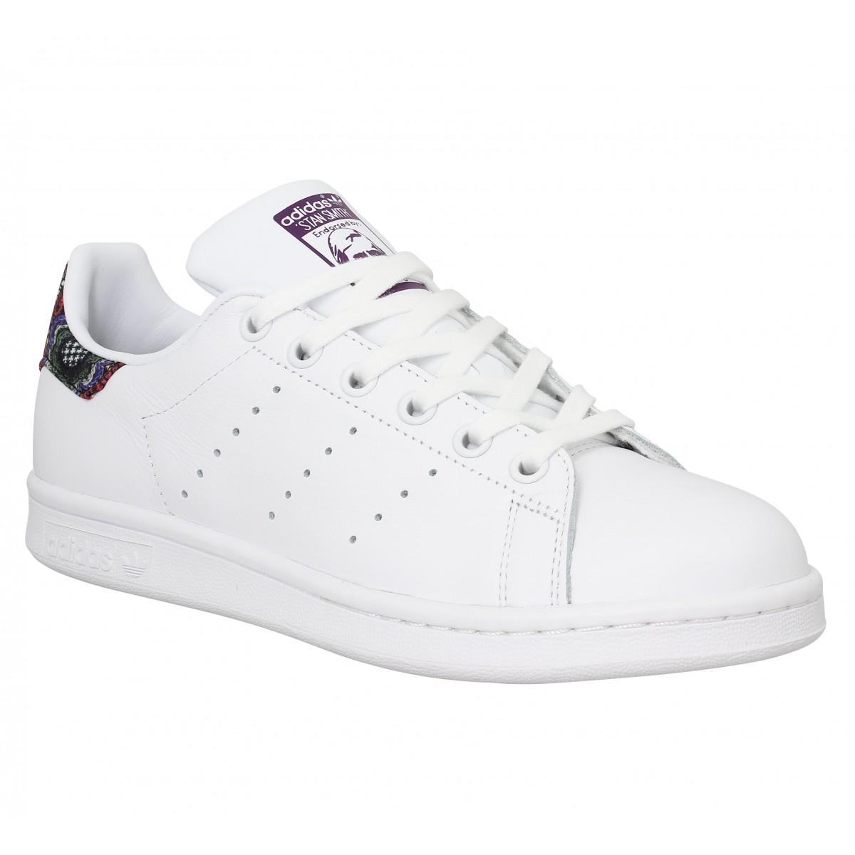 Adidas Femme Stan Smith Cuir-40...