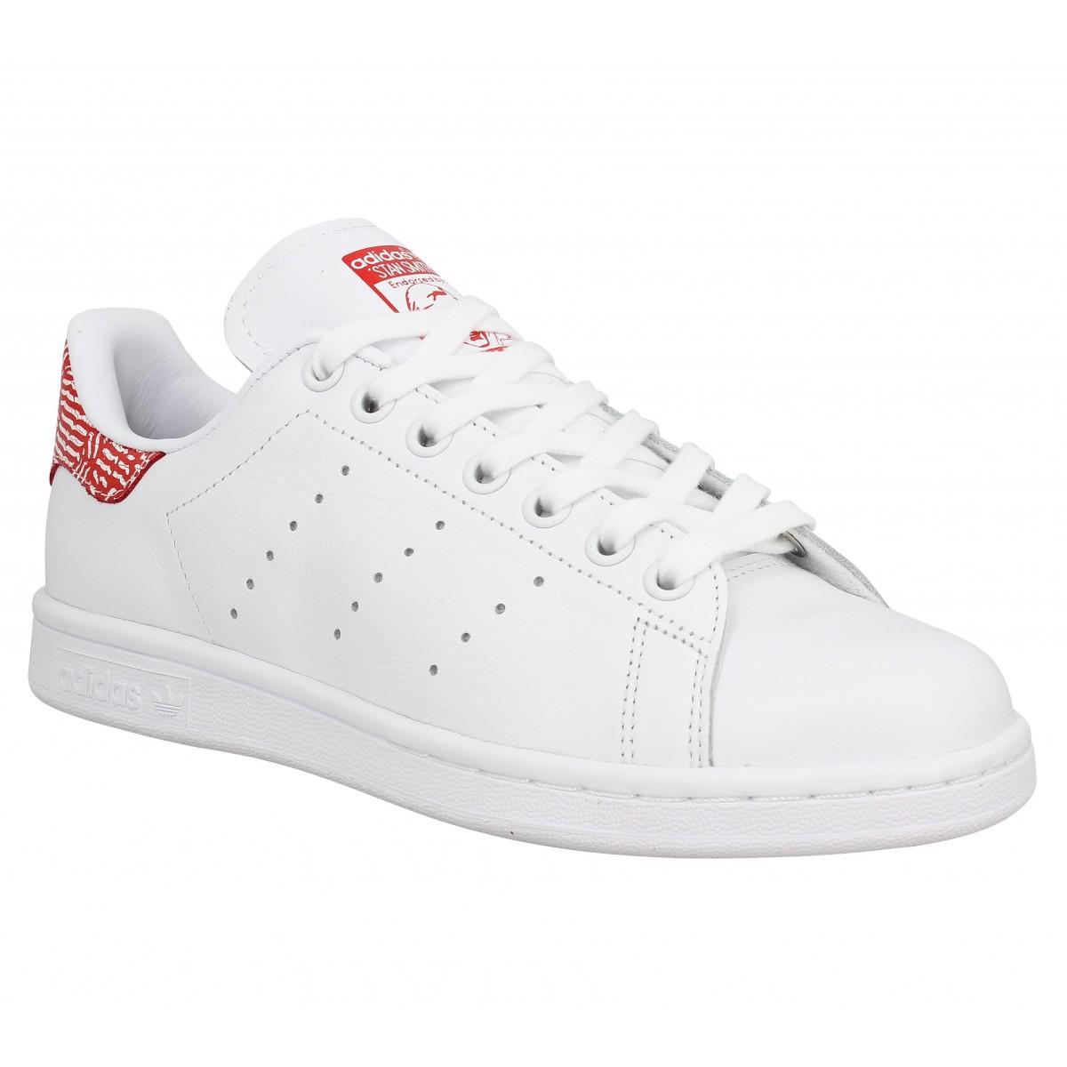 Adidas Femme Stan Smith Cuir-36-blanc...