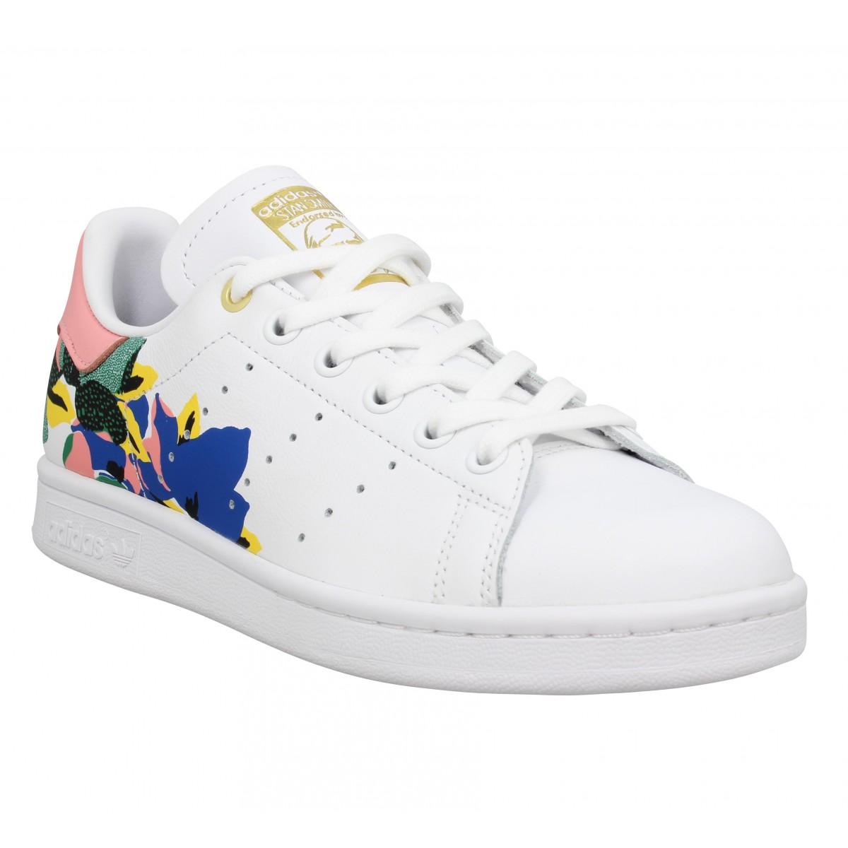 Adidas Femme Stan Smith Cuir -36...
