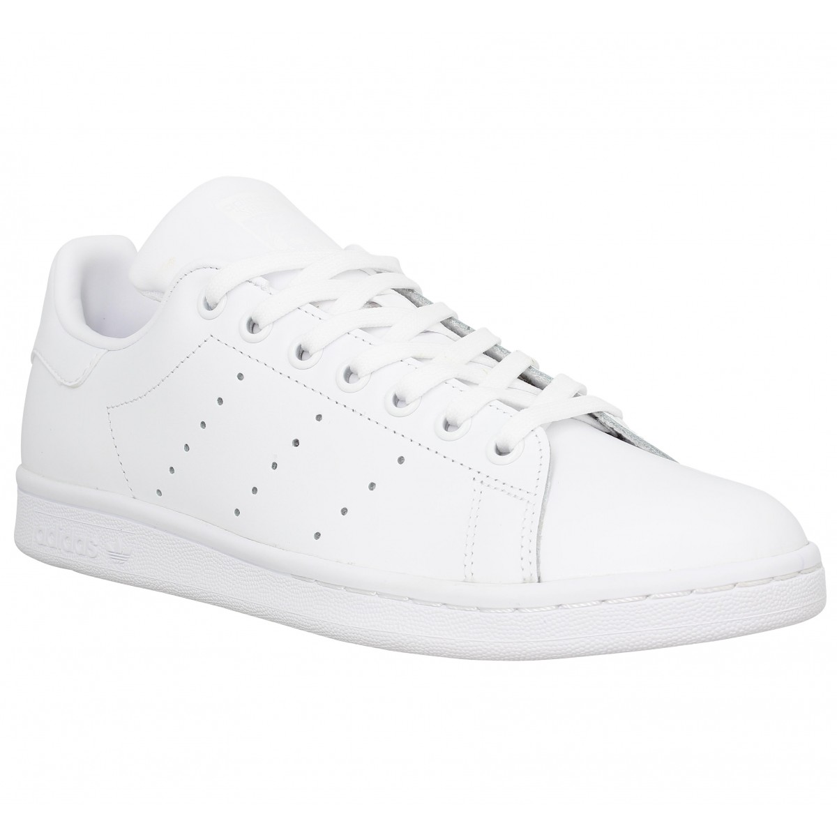 Baskets ADIDAS Stan Smith cuir Homme White