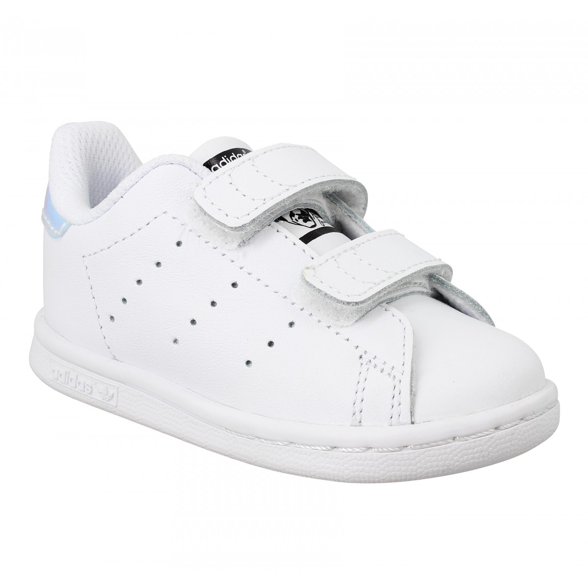 Baskets ADIDAS Stan Smith Blanc Argent