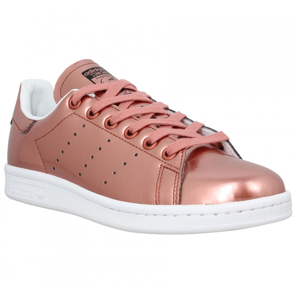 Baskets ADIDAS Stan Smith metal Femme Cuivre