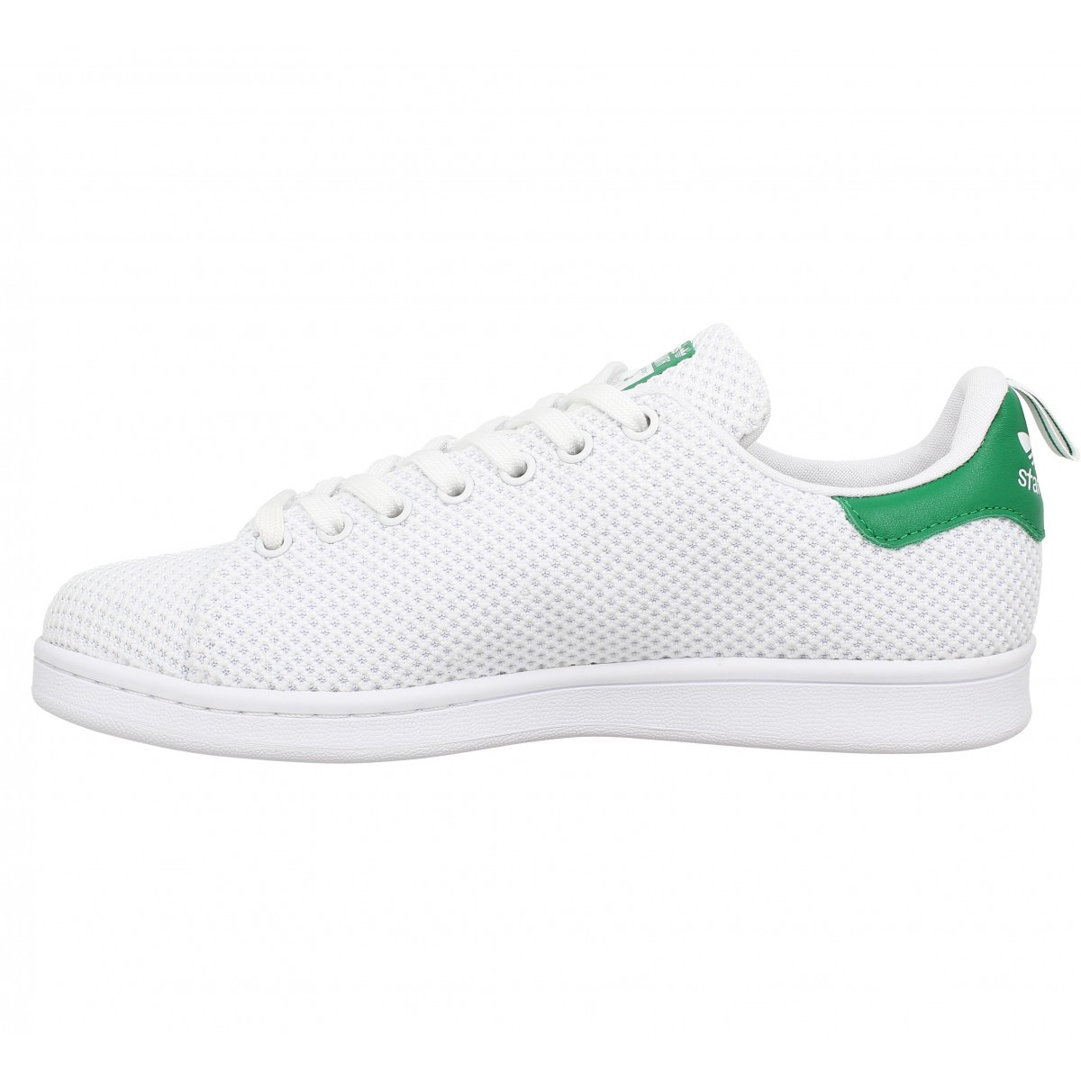 Baskets ADIDAS Stan Smith toile Blanc Vert. 1
