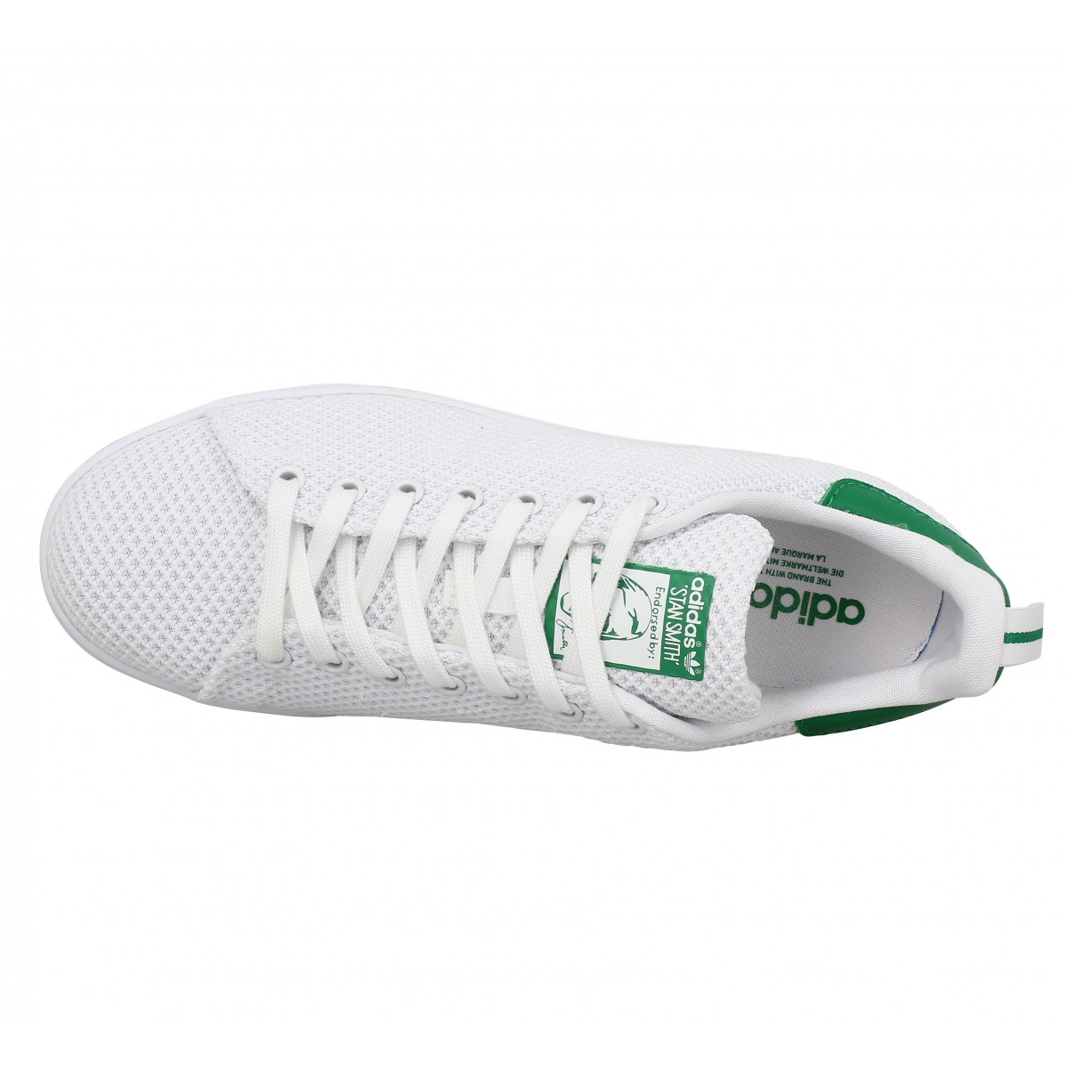 official photos 35d2d aa936 ... adidas stan smith en toile