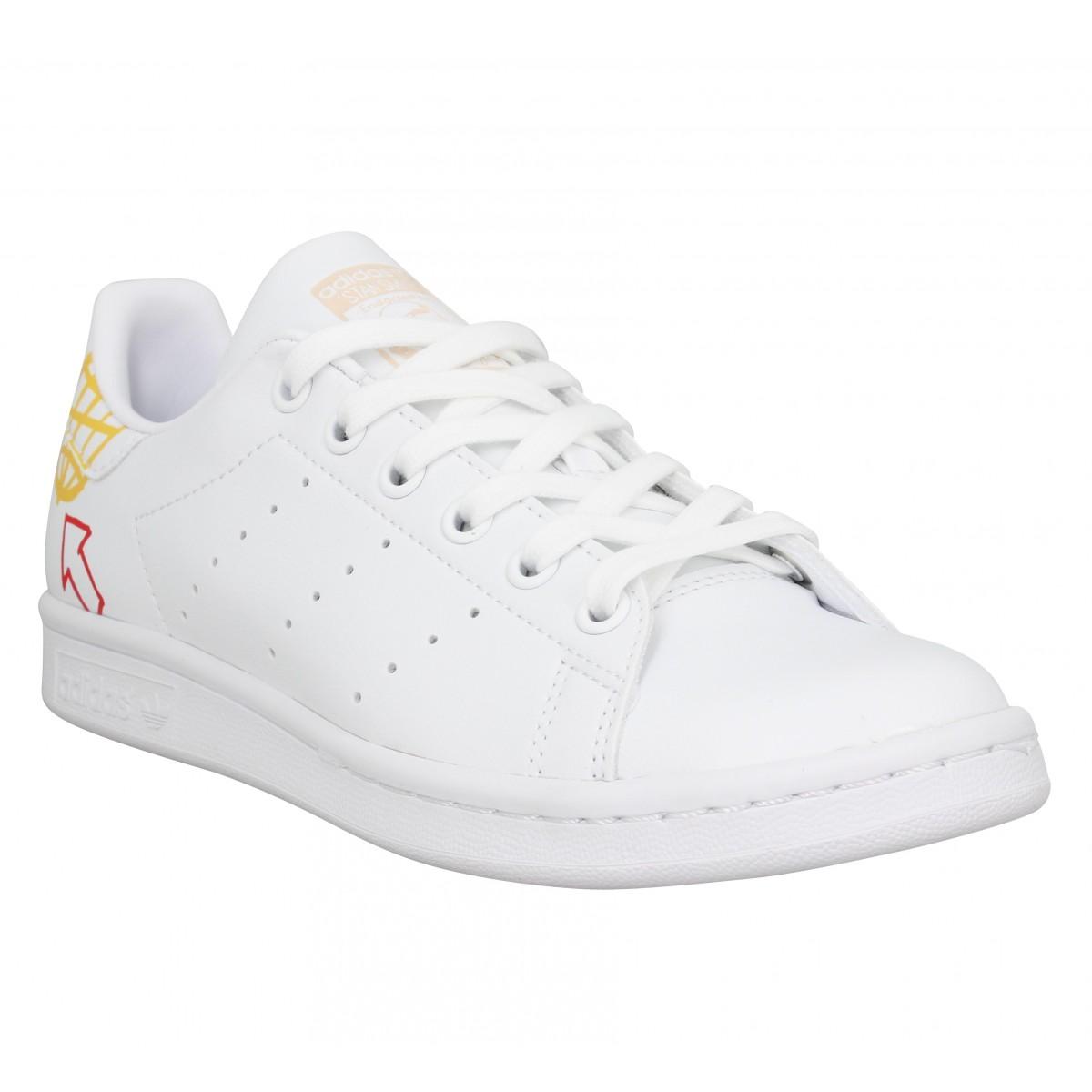 Adidas Femme Stan Smith Vegan -36-blanc...