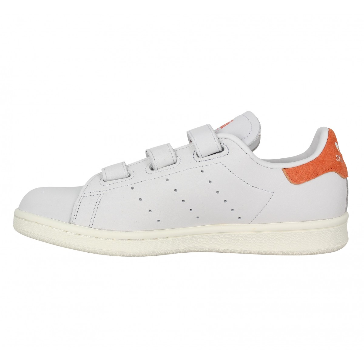 grand choix de 6e9f1 714a7 czech adidas stan smith blanc velcro 680e6 7b179