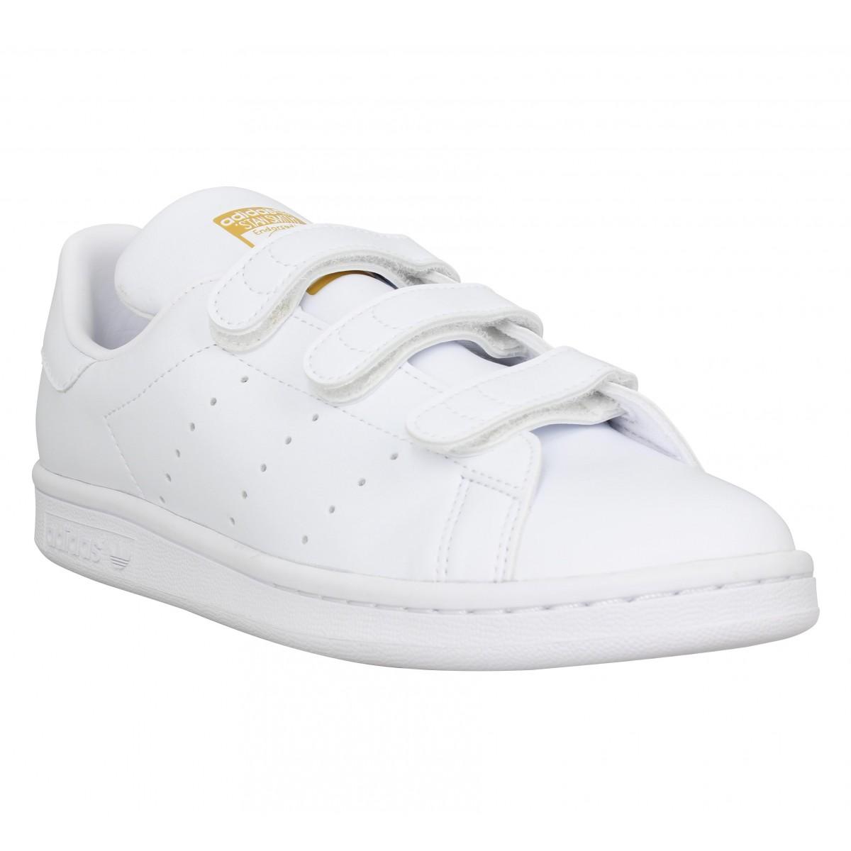 Adidas Marque Stan Smith Velcro Vegan...