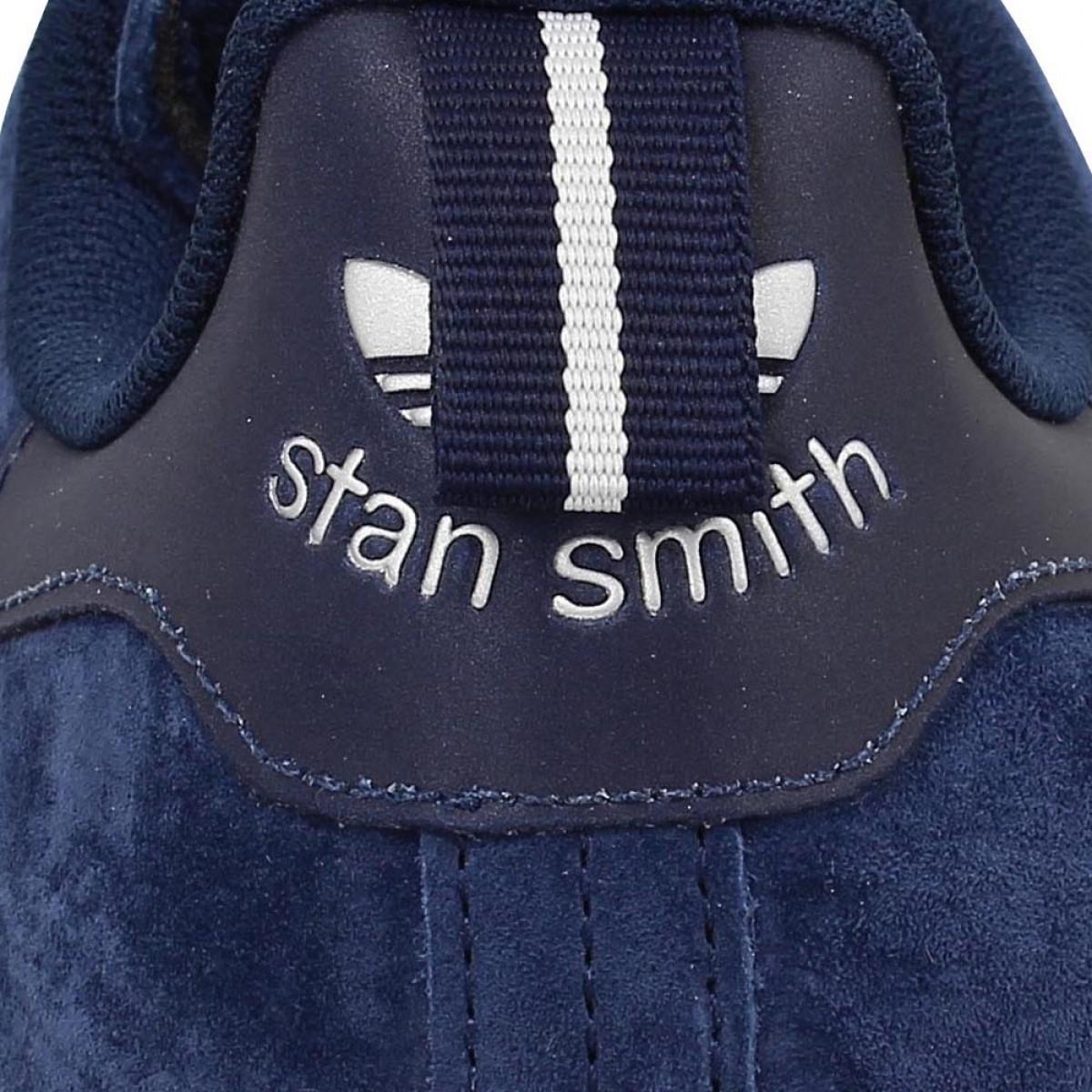 ADIDAS Stan Smith velours Homme Marine