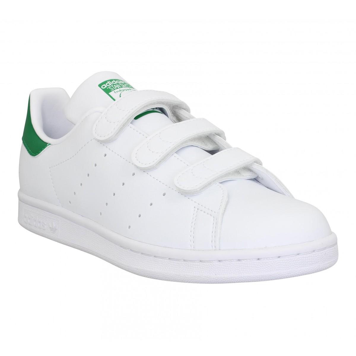Baskets ADIDAS Stan Smith VL primegreen Blanc Vert
