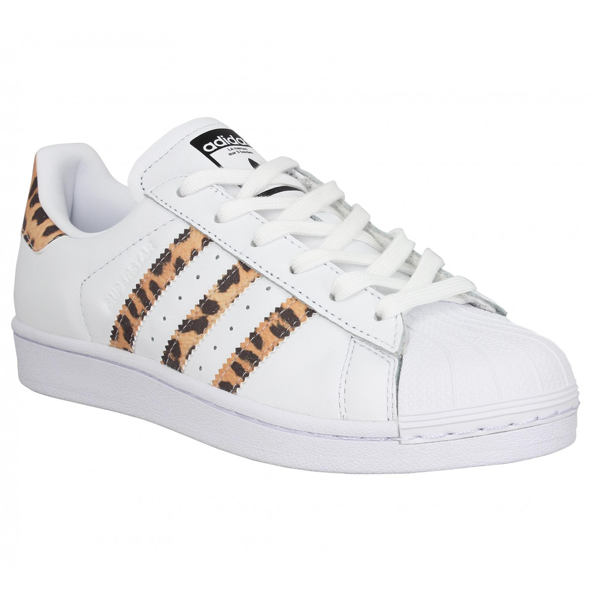 basket adidas superstar grise