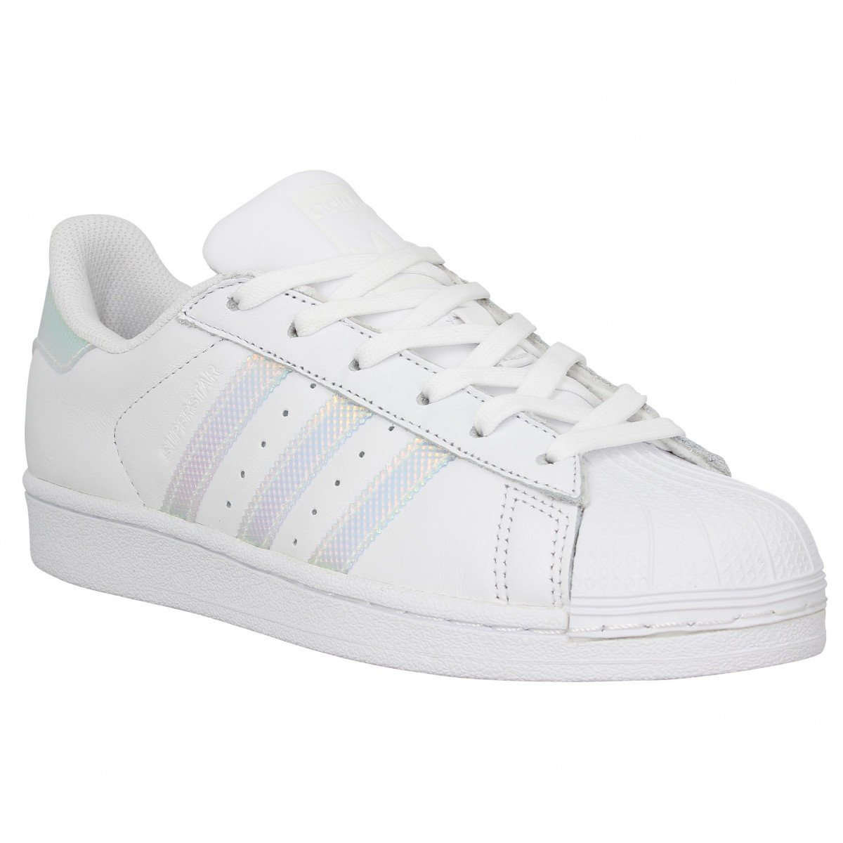 adidas Baskets en cuir Superstar