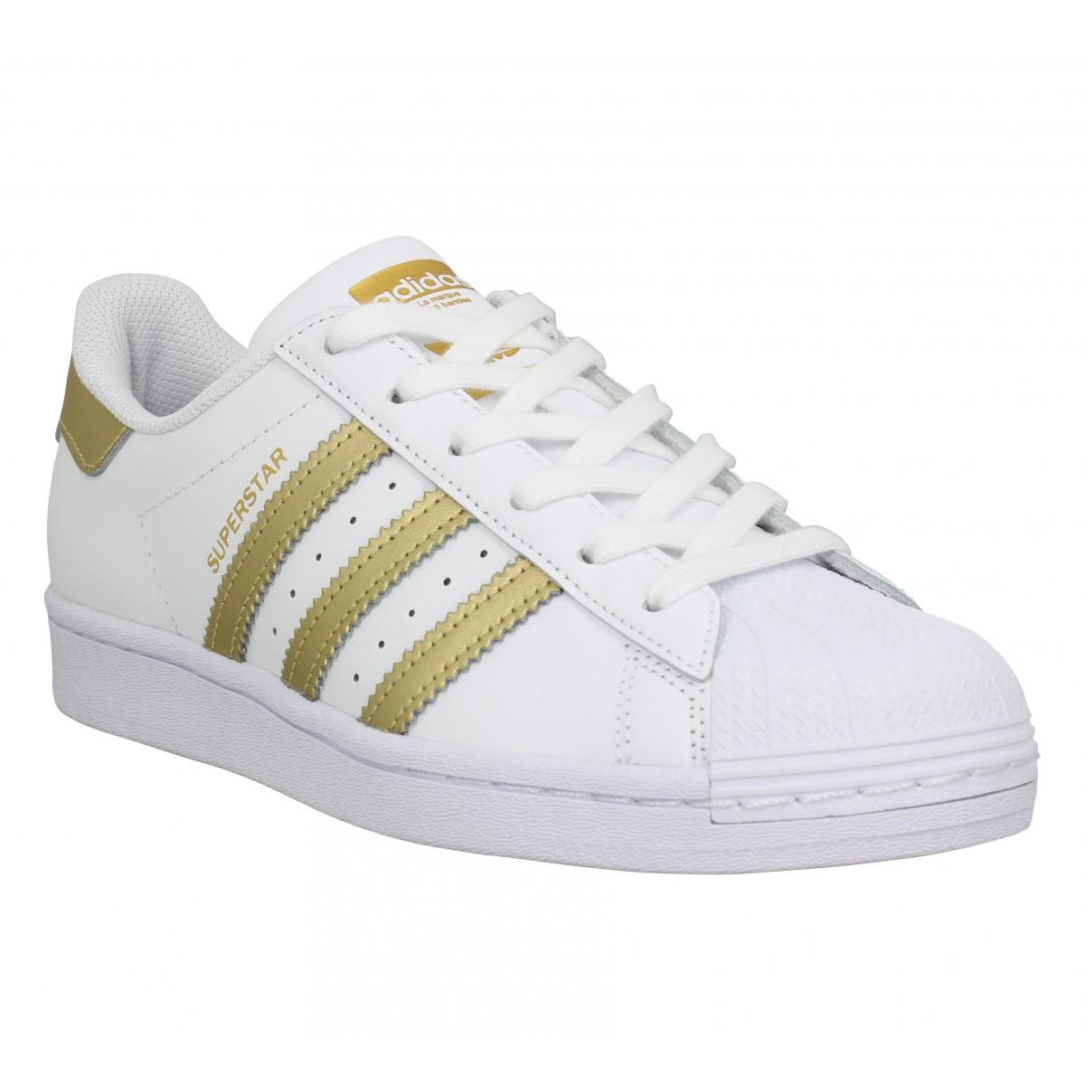 Adidas Femme Superstar Fx7483 Cuir...
