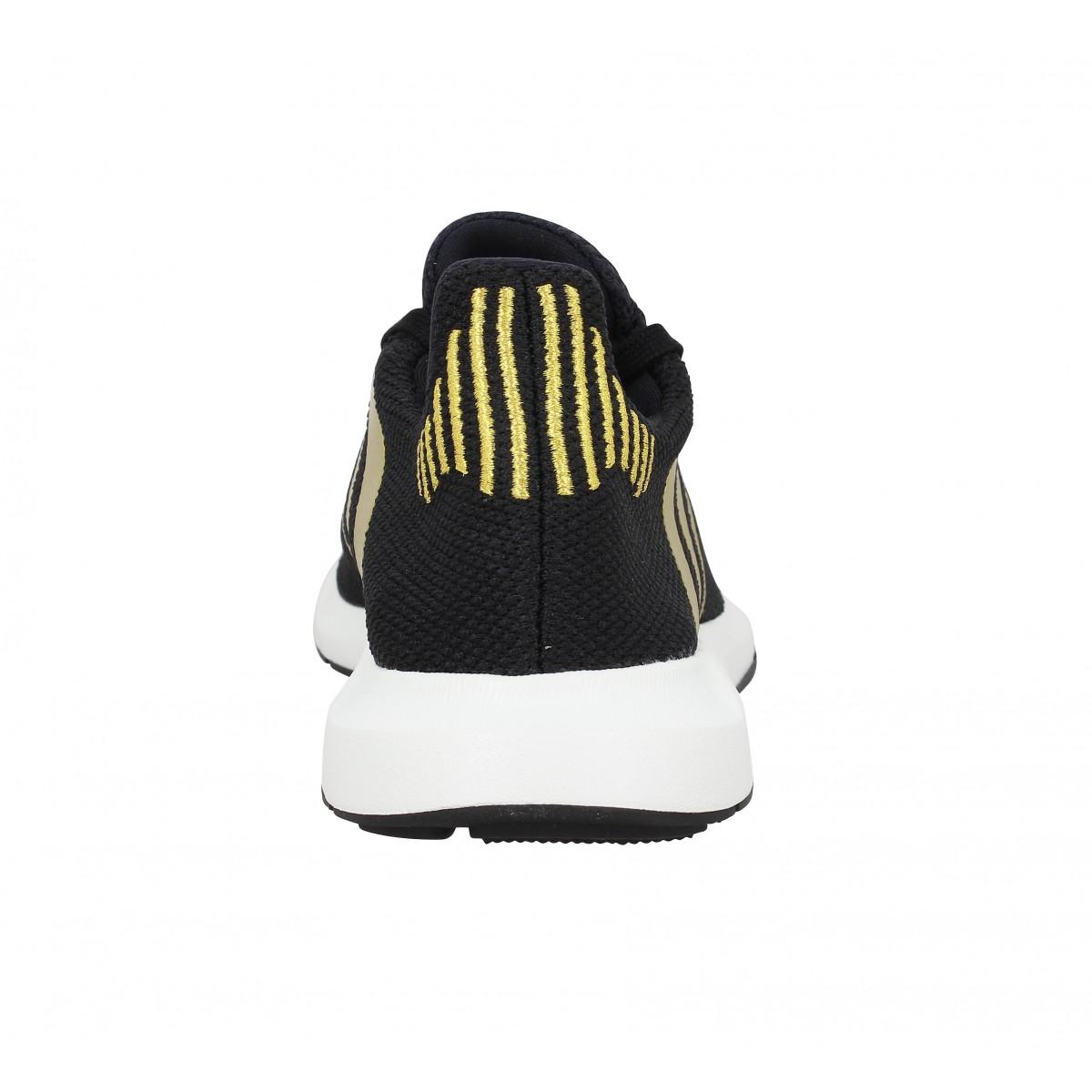 Chaussures Adidas swift run toile femme noir femme | Fanny