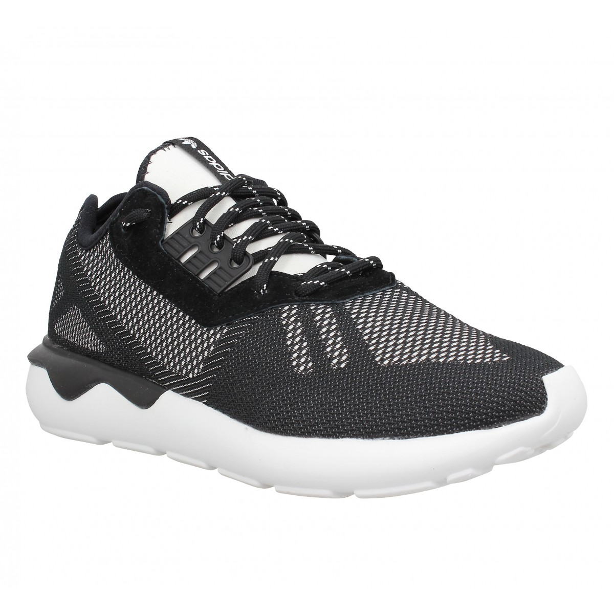 Baskets ADIDAS Tubular Runner Weave Homme Noir