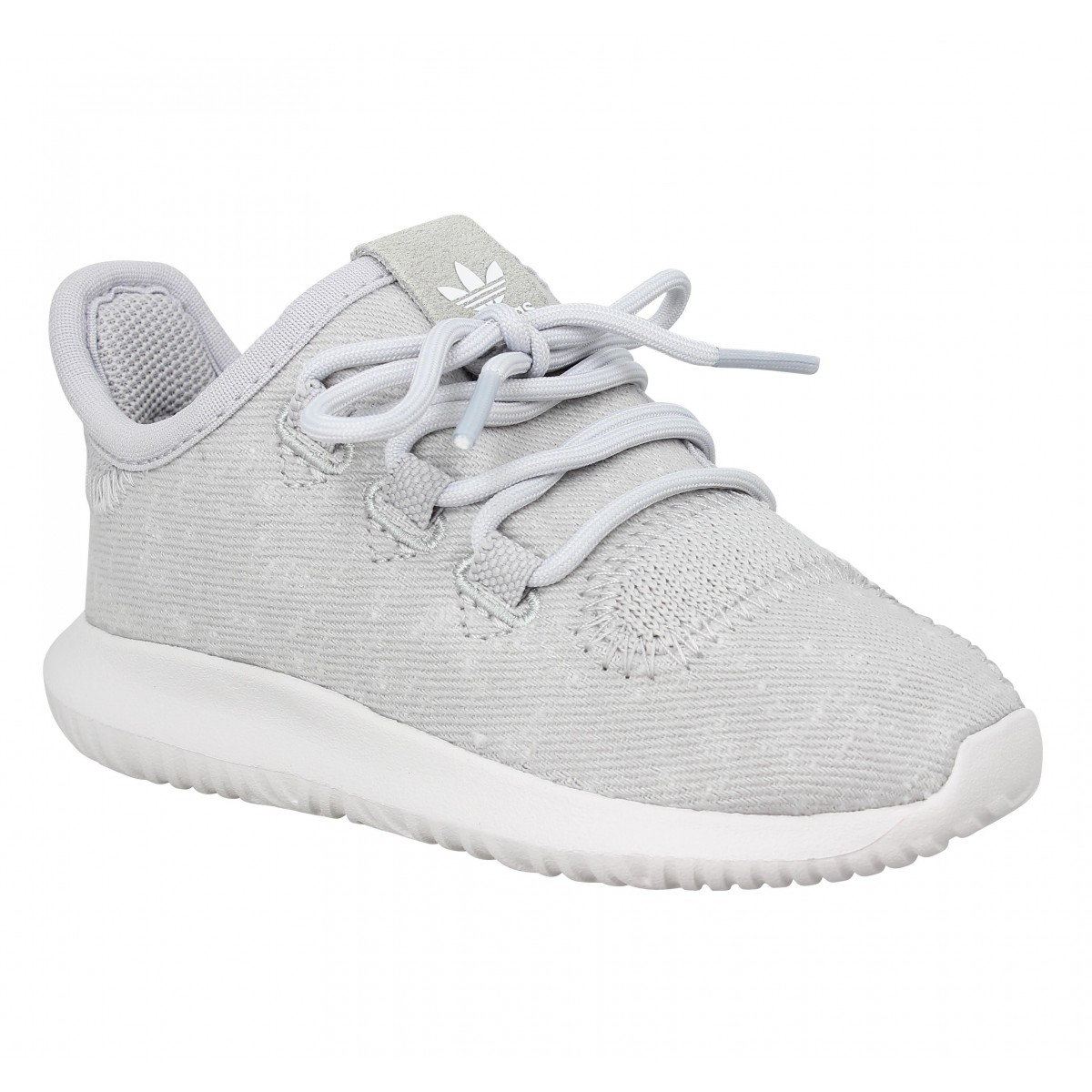 Baskets ADIDAS Tubular Shadow toile Enfant Gris