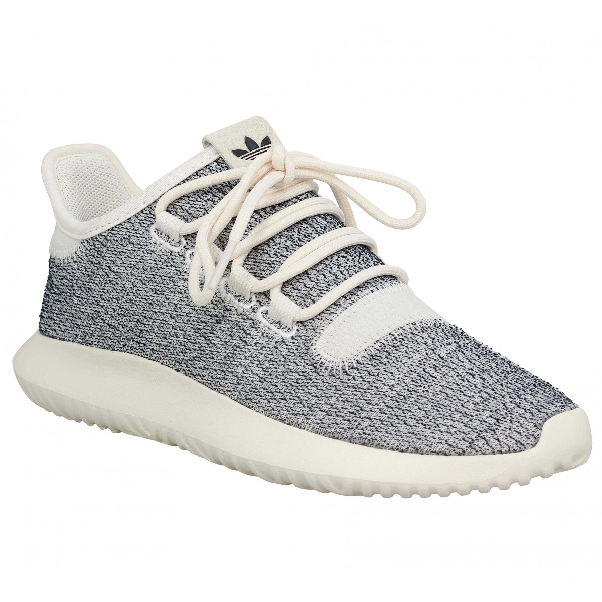 new style 6c7d8 7e503 Baskets ADIDAS Tubular Shadow toile Femme Blanc Casse