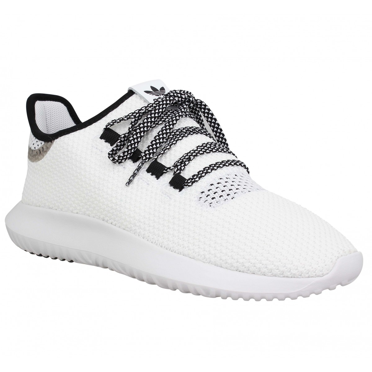 Baskets ADIDAS Tubular Shadow toile Homme Blanc