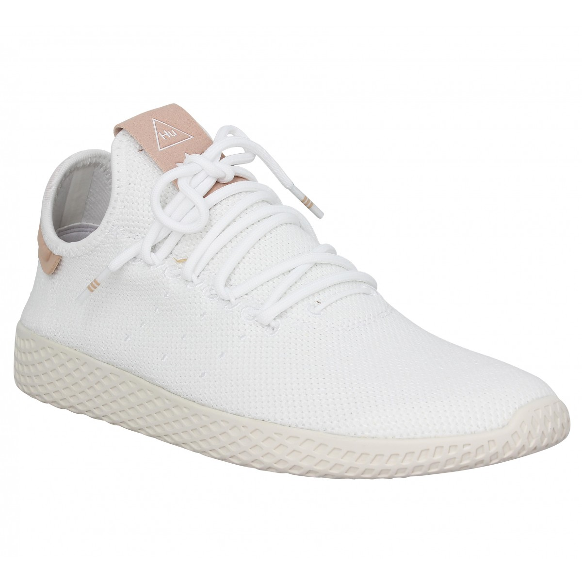 Baskets ADIDAS X PHARRELL WILLIAMS PW Tennis mesh Blanc