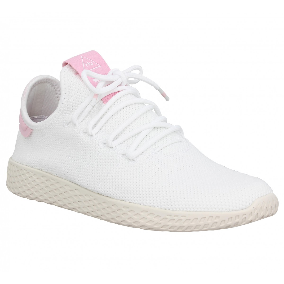 ADIDAS X PHARRELL WILLIAMS PW Tennis mesh Femme Blanc Rose