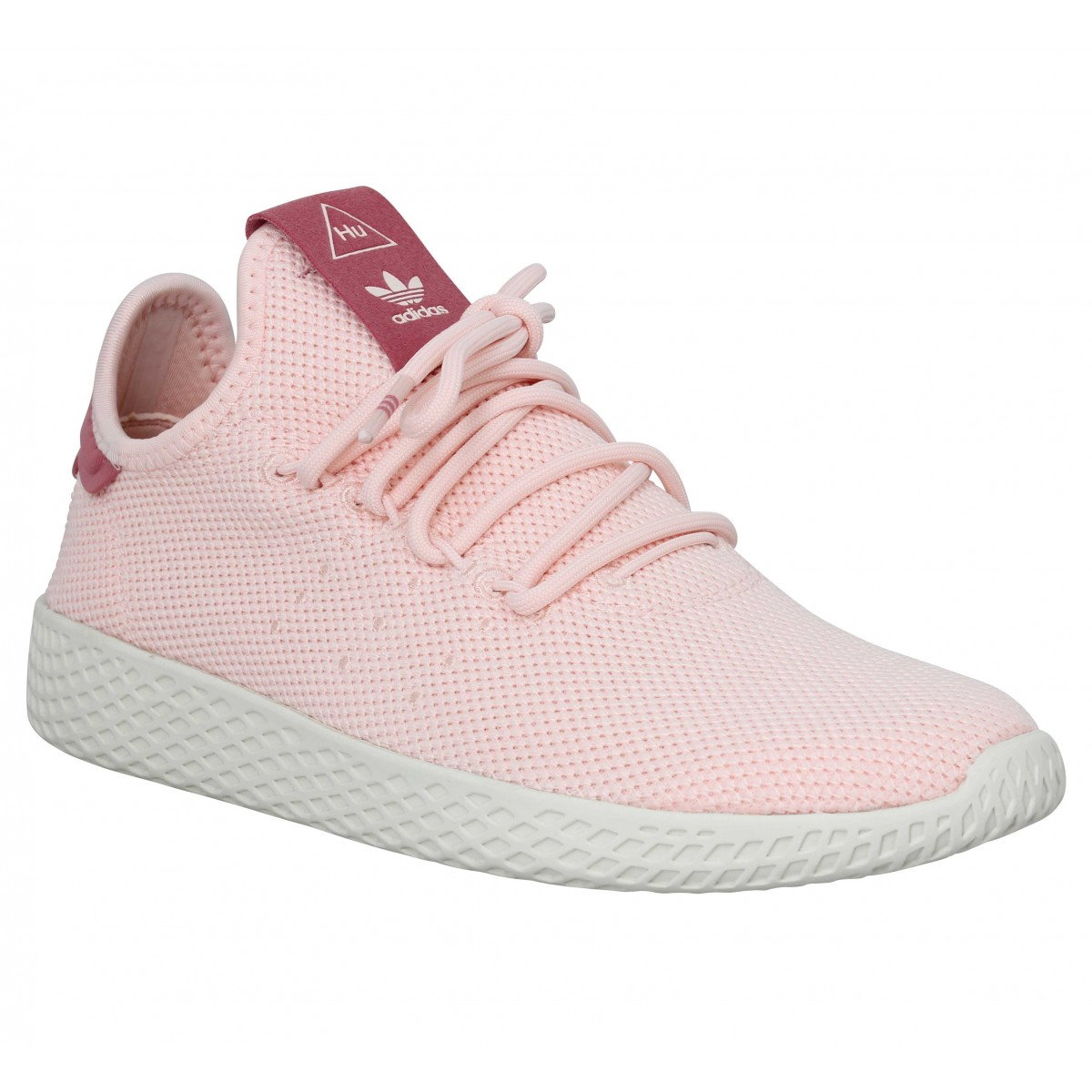 le rapport qualité prix Garantie de satisfaction à 100% prix raisonnable ADIDAS X PHARRELL WILLIAMS PW Tennis mesh Femme Rose