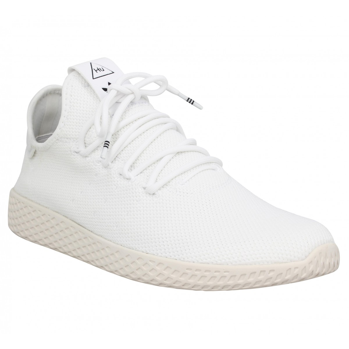 ADIDAS X PHARRELL WILLIAMS PW Tennis mesh Homme Blanc