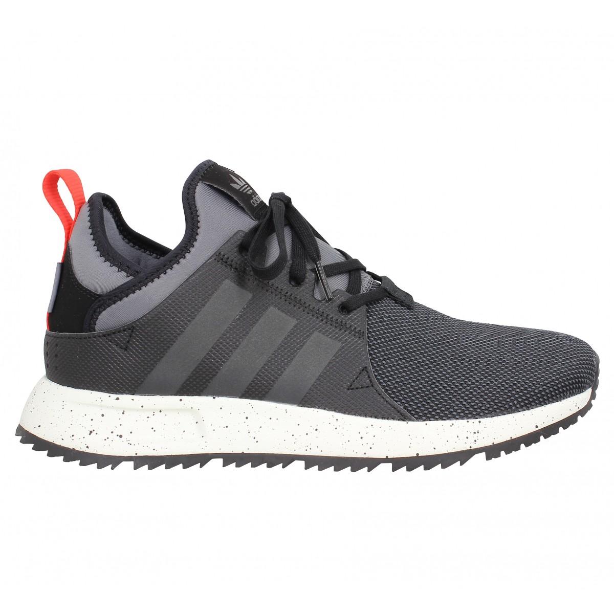 ADIDAS X PLR Sneaker Boot toile Homme Noir