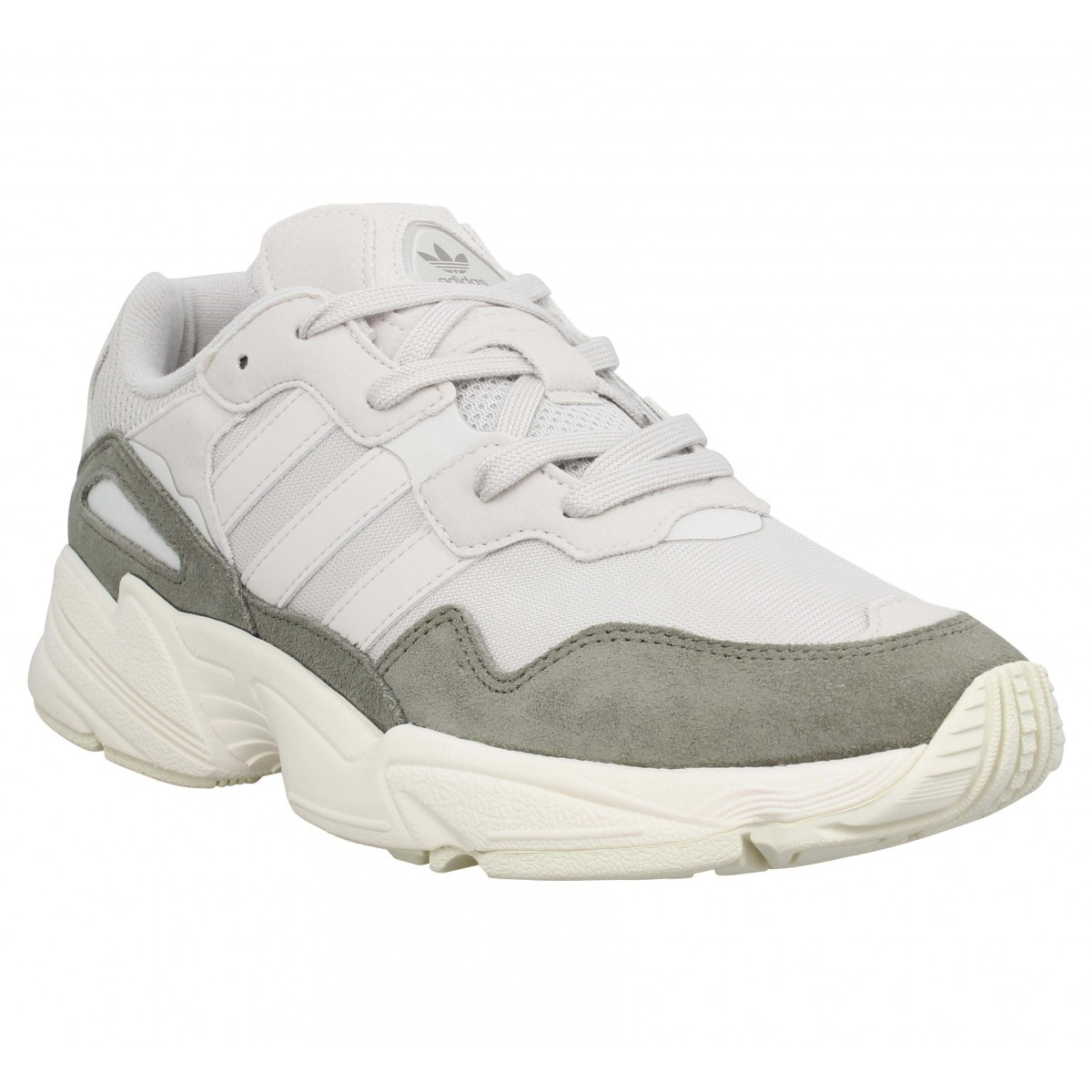 ADIDAS Yung 96 toile Homme Blanc Brut
