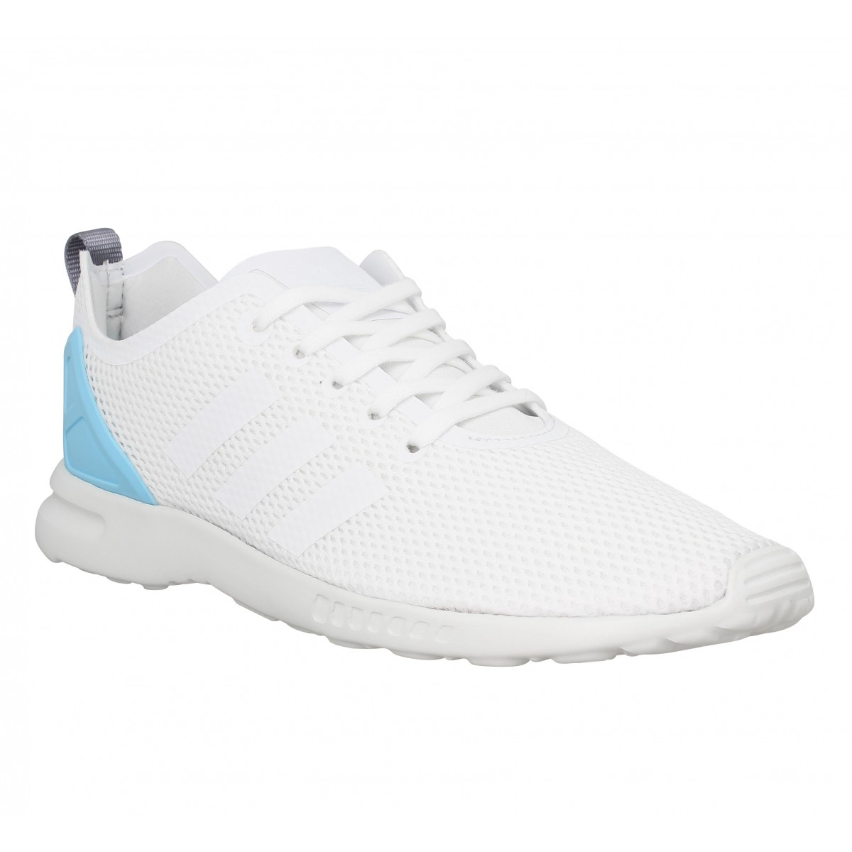 Baskets ADIDAS ZX Flux ADV smooth Femme Blanc