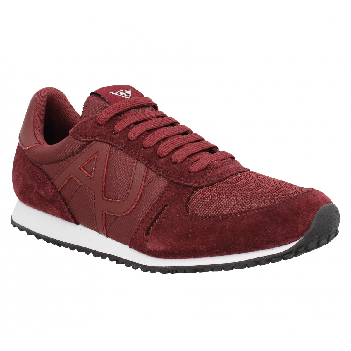 Baskets ARMANI JEANS 5027 Bordeaux