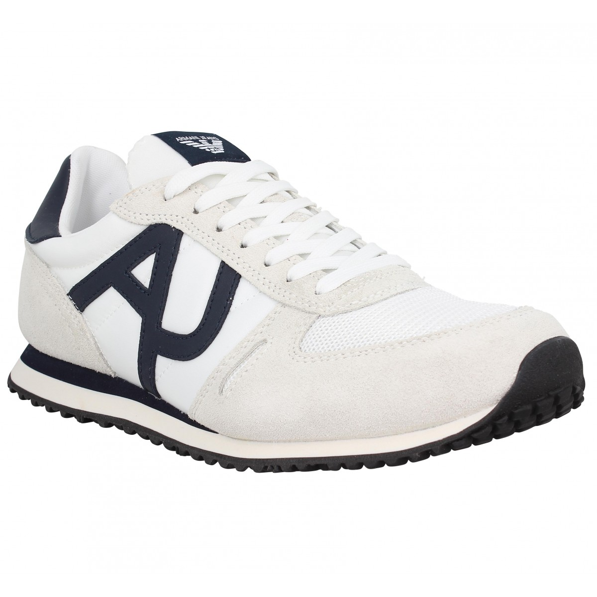 721ad6803167e7 Chaussures Armani jeans 9350 homme blanc homme | Fanny chaussures