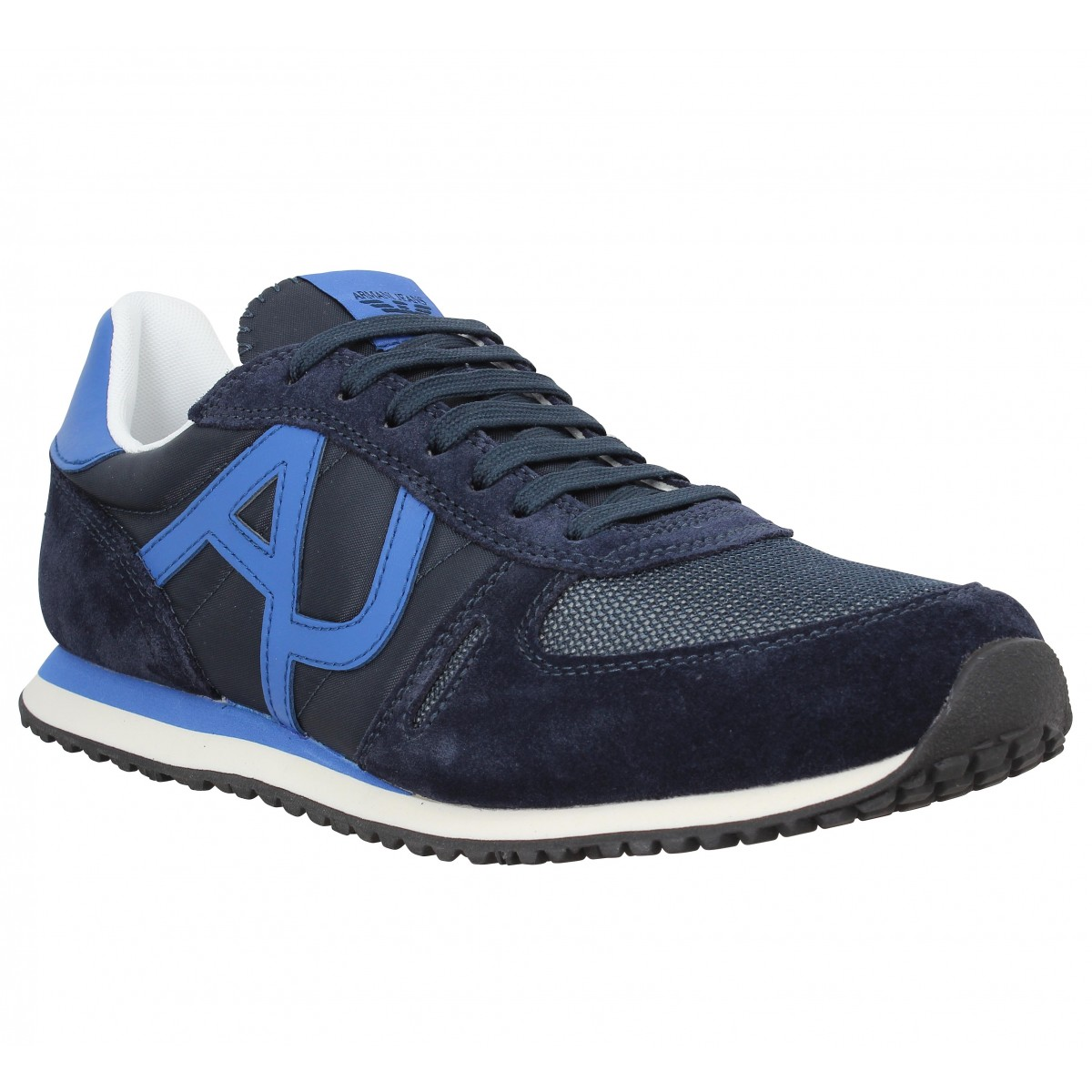 da8ee2b3f5a25f Chaussures Armani jeans 9350 bleu homme | Fanny chaussures