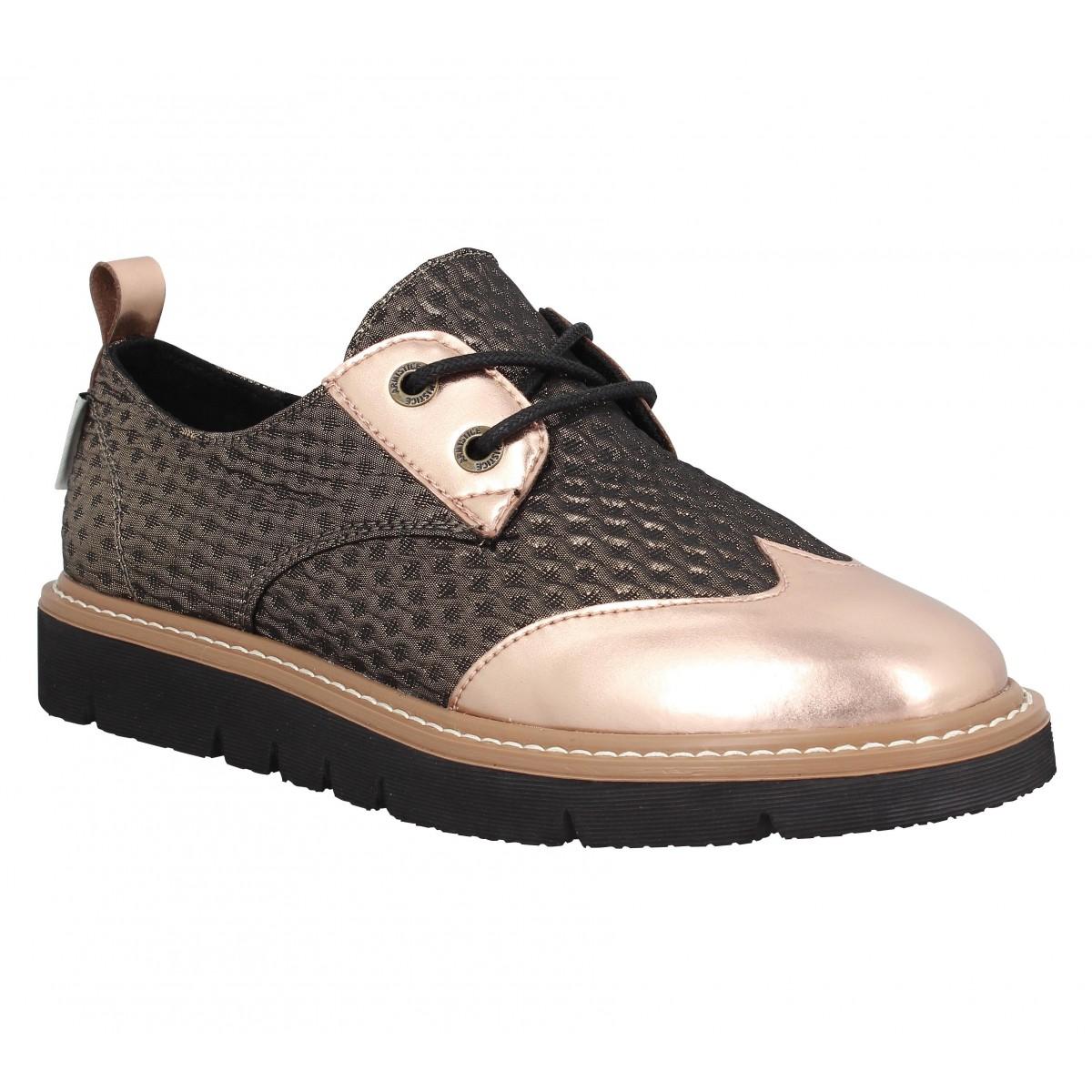 Chaussures à lacets ARMISTICE Fox Derby Bronze