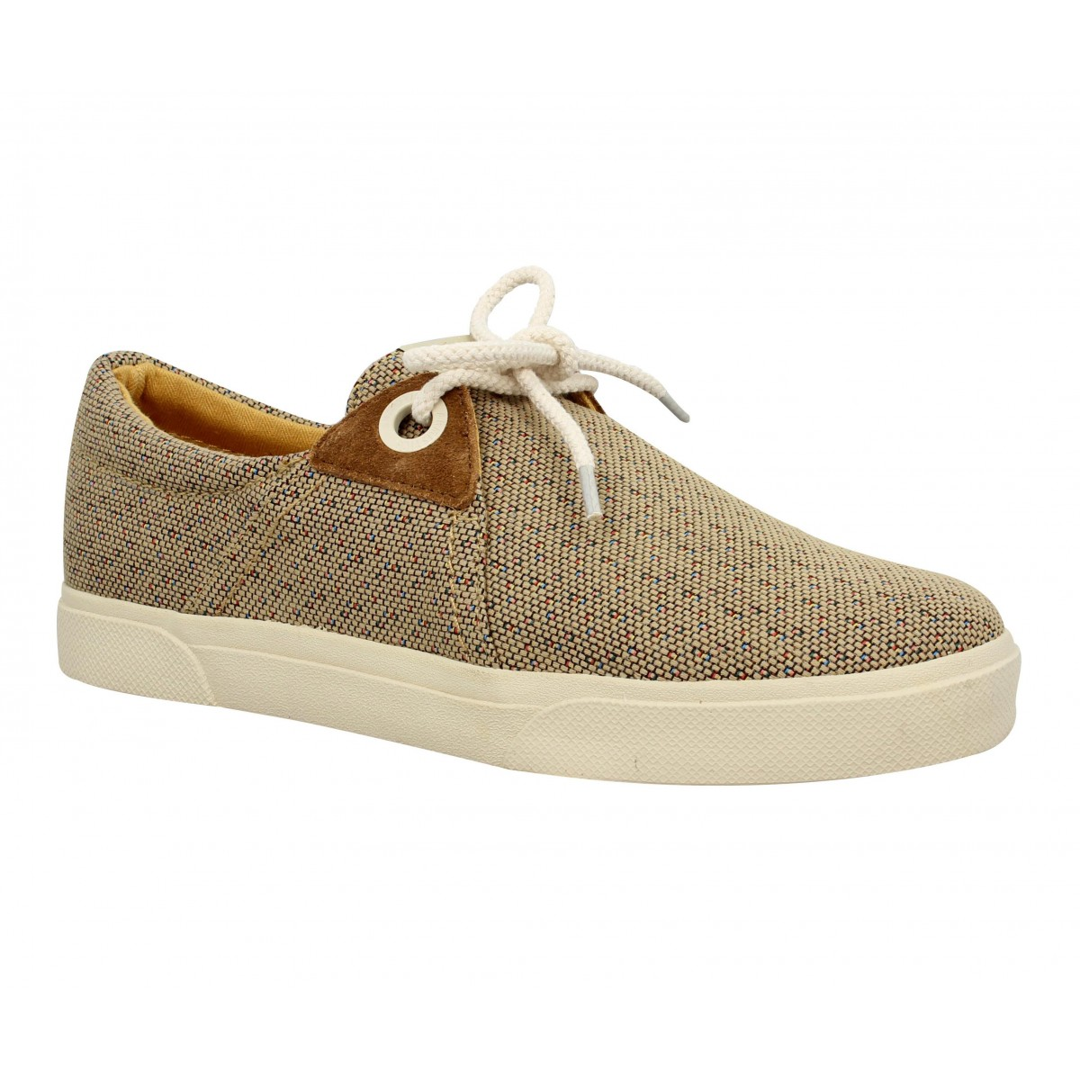 Baskets ARMISTICE Hope One toile Mexico Homme Taupe