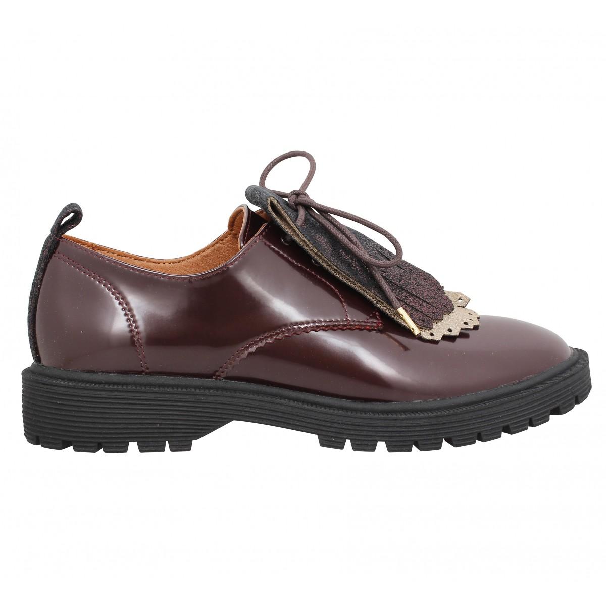 Chaussures à lacets ARMISTICE Rock Derby vernis Femme BordeauxArmistice PDrX4Fr