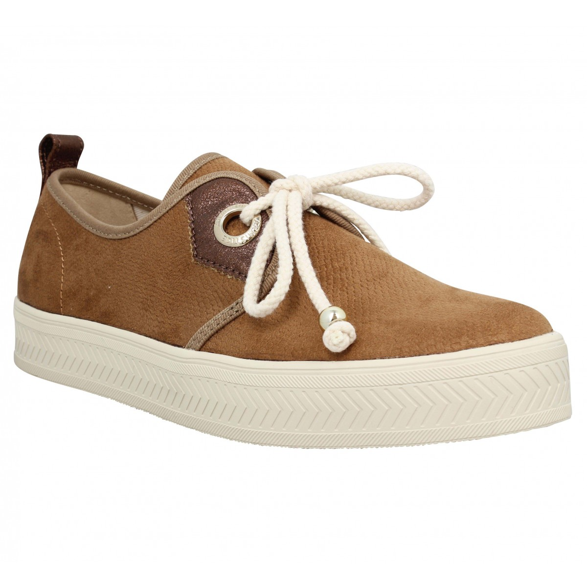 Baskets ARMISTICE Sonar One boa Femme Marron