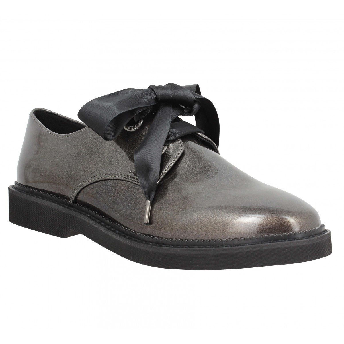 Chaussures à lacets ARMISTICE Stock Derby glossy Femme Anthracite
