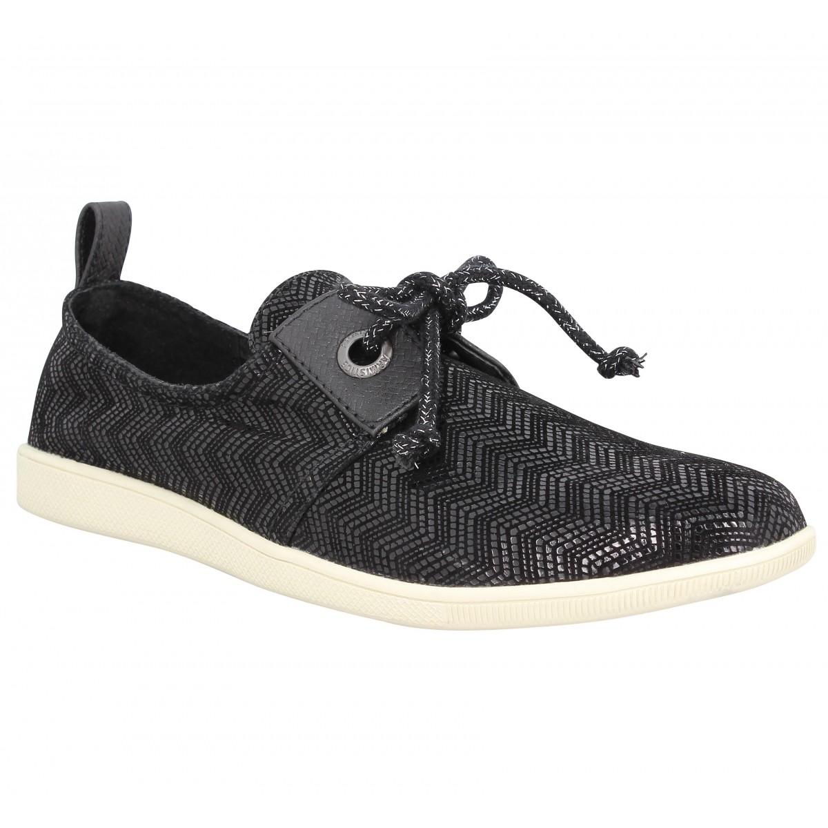 Baskets ARMISTICE Stone Glove cuir Step Noir