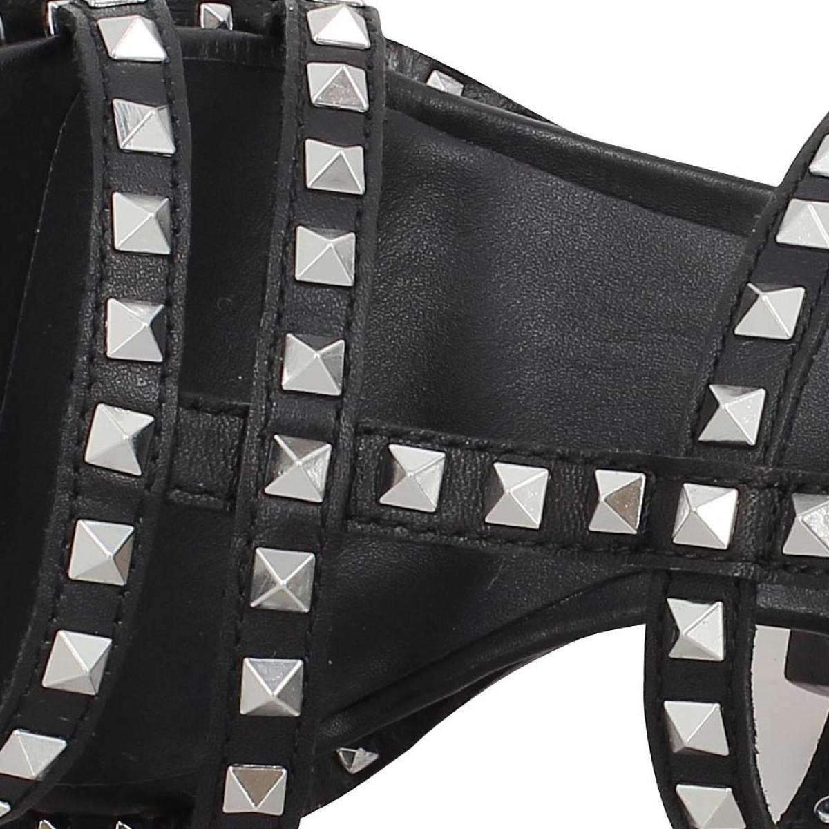 5871a7dfd3f1ff Chaussures Ash lucy cuir femme noir femme   Fanny chaussures