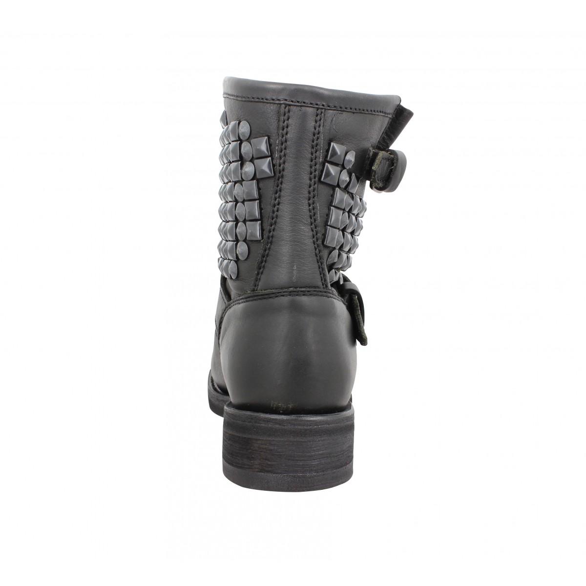 Chaussures Noir Femme Nappa Ash Tennesse Fanny x68qp
