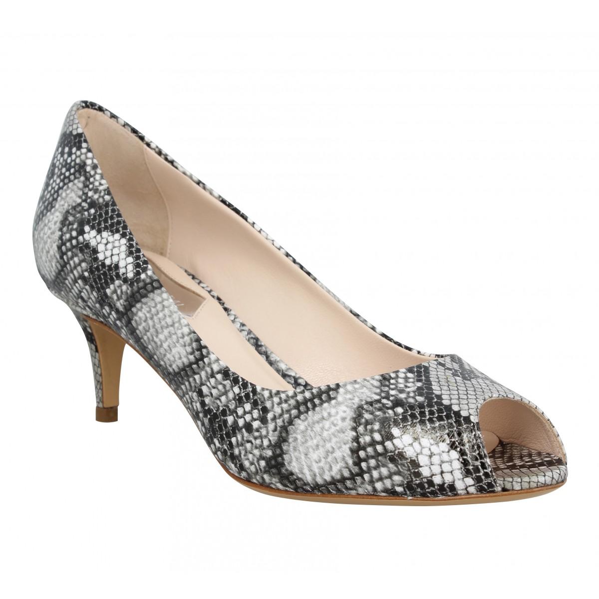 Sandales talons ATELIER MERCADAL 7020 python Femme Gris