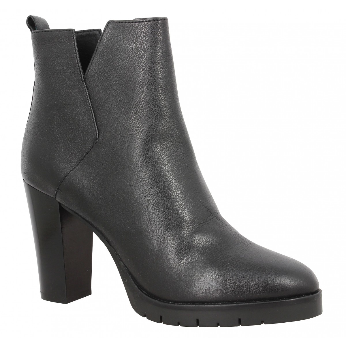 Bottines B PRIVATE 2001 Femme Noir