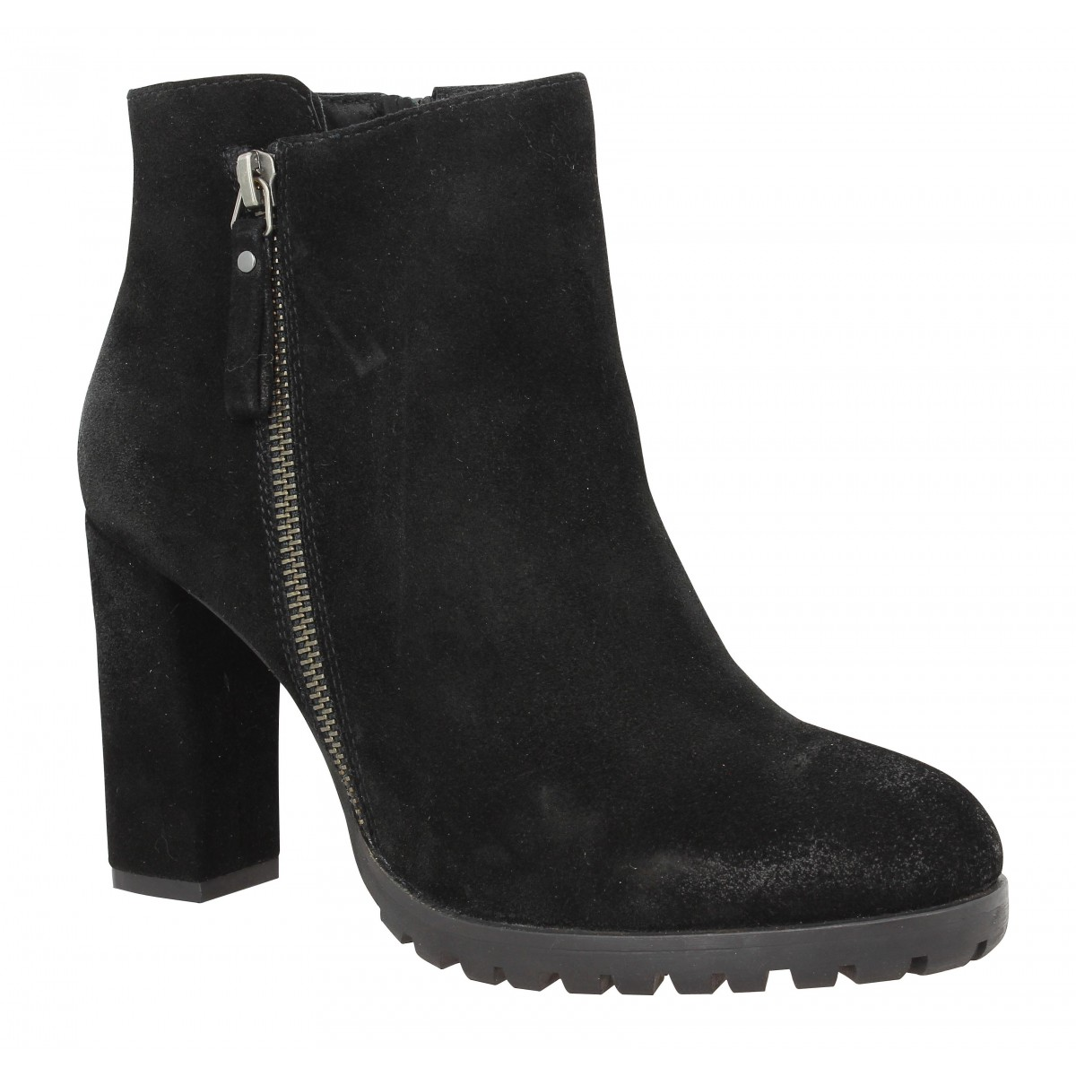 Bottines B PRIVATE 2101 Femme Noir