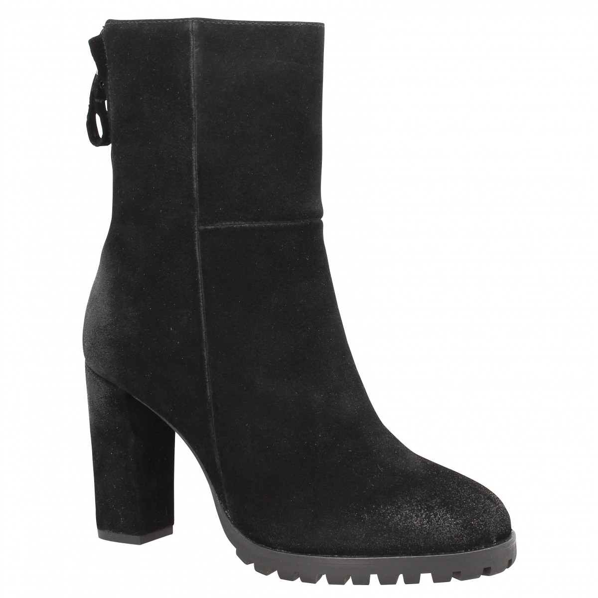 Bottines B PRIVATE 2107 Femme Noir