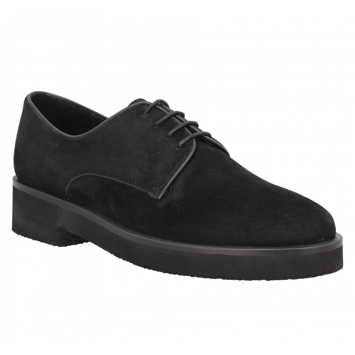 Chaussures à lacets B PRIVATE 2301 Femme Noir