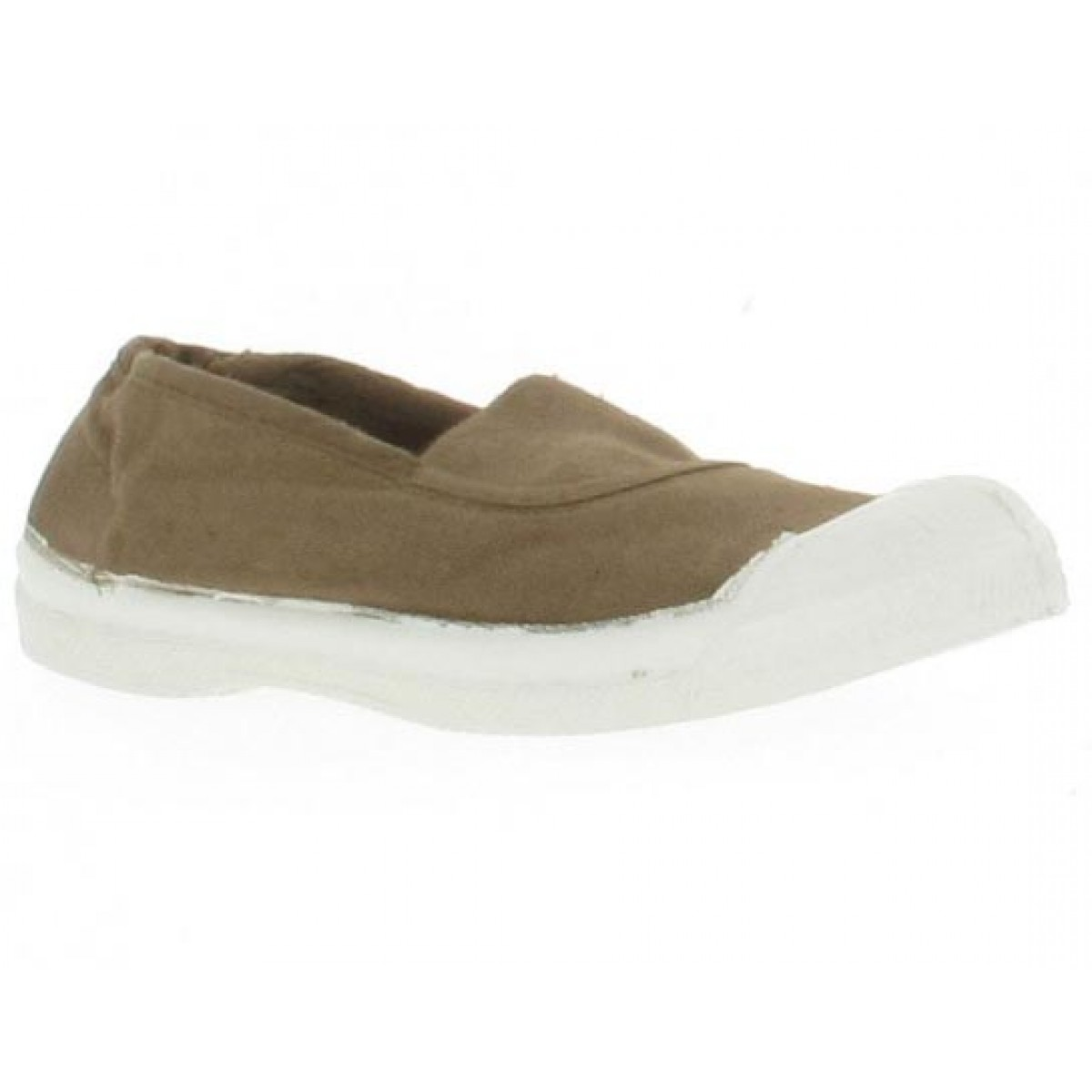 Baskets BENSIMON Elast toile Enfant Naturel