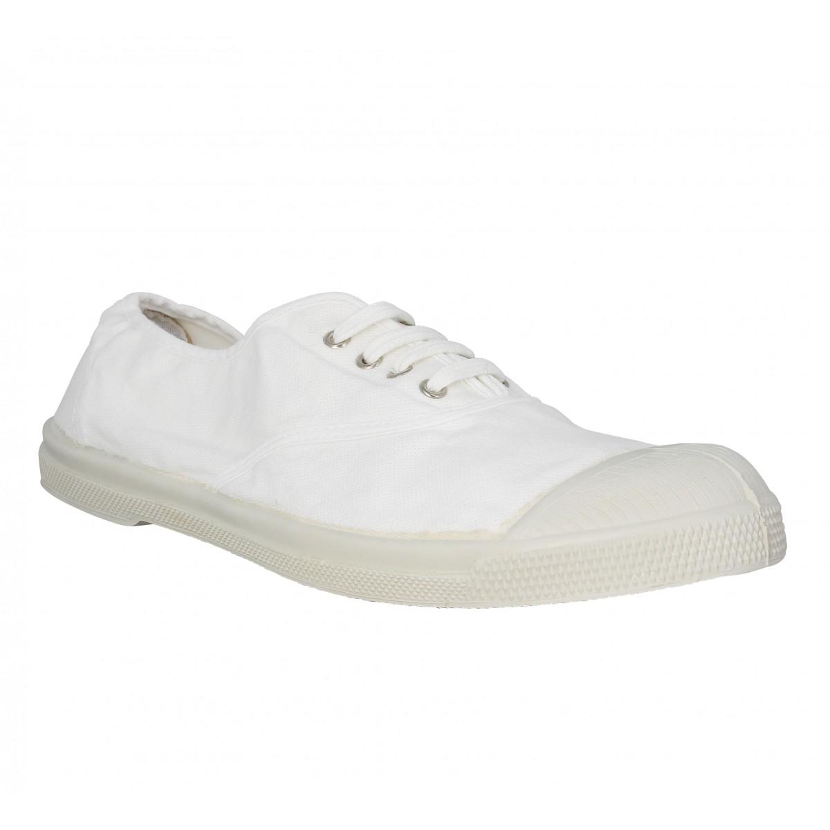 Bensimon Marque Lacet Femme-41-blanc