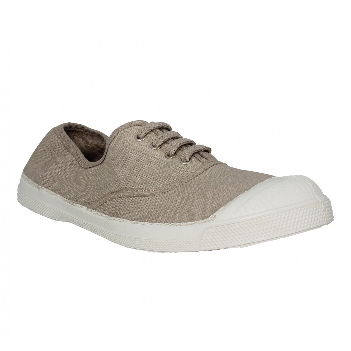 29c482f3d08030 Bensimon lacet toile femme coquille | Fanny chaussures