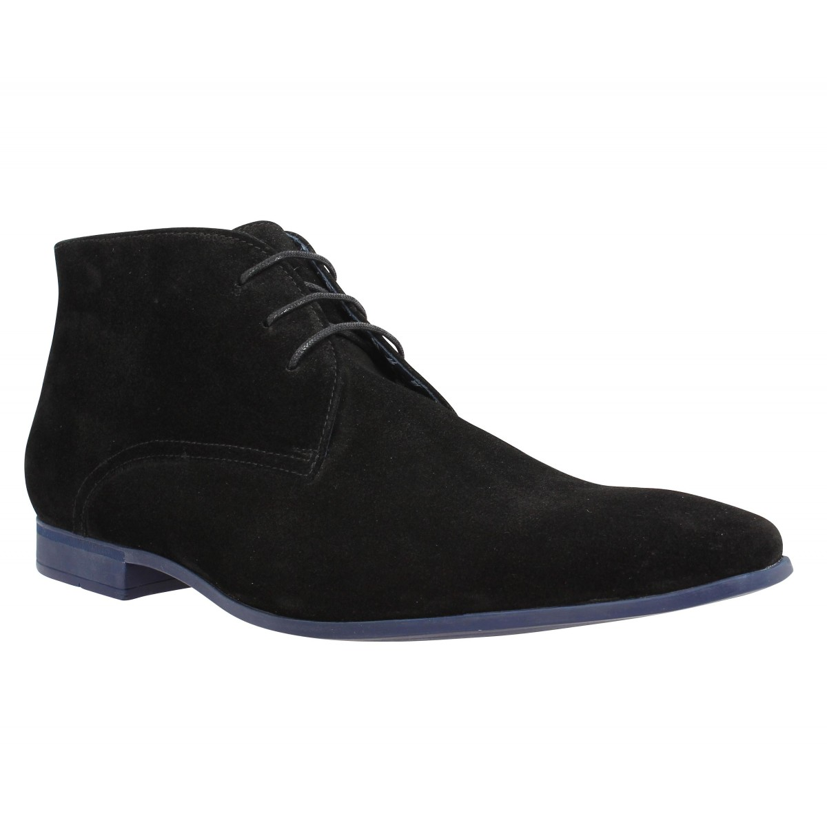 Bottines BILLTORNADE Fever velours Homme Noir